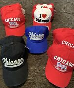 City Of Chicago Caps Lot Of 11
