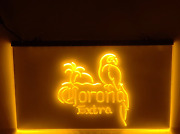 Corona Extra Parrot Led Sign Beer Cerveza