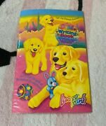 Vintage Lisa Frank Casey Caymus Puppy Dogs Writing Book Paper And Stickers