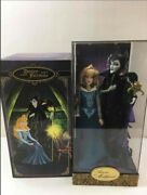 Disney Fairytale Maleficent And Aurora Doll Designer Collection - Limited Edition