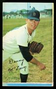 1970 Topps Super 17 Denny Mclain Hq Factory Cut Square Corners Not A Blank Back