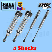 Fox Shocks Kit 4 Front 0-2 And Rear 0-1 Lift For Nissan Titan 4wd 2004-2015