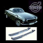 Volvo P1800 S Coupe Stainless Steel Bumpers