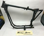 Harley Davidson Late 70and039s Ironhead Frame Xlh Xlch Sportster