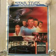 Vintage Star Trek The Motion Picture Coca-cola Poster Mail Away 1979