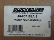 Water Pump Assembly 46-807151a8 New In Sealed Box