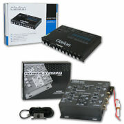 Clarion Eqs755 Car 7-band Graphic Equalizer + Mcd360 2/3 Way 6-channel Crossover