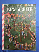 1942 May 23 The New Yorker Magazine - Illustrated Cover - Horse Race Show