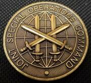 Joint Special Operations Command Jsoc Cg Challenge Coin
