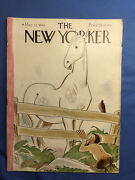1941 March 22 The New Yorker Magazine - Illustrated Cover - Horse