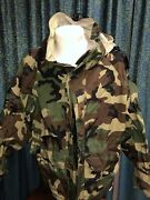Parka 2nd Generation Camo Extreme Cold Weather Made By Rothco Rare Small