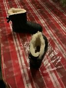 New Uggs Womens Boots Mini Bailey Bow Sparkle Black Size 7