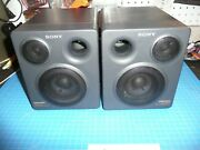 Sony Cfd-757 Boombox Replacement Parts Speakers Only