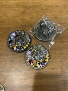 Navy Chief Cpo Challenge Coin 3 Coin Lot