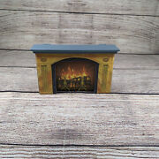 13 Dead End Drive Game Replacement Fire Place Cardboard And Mantel Only 1993