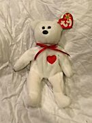 Valentino February 14, 1994 Ty Beanie Baby Plush, Mint, With Tag Errors