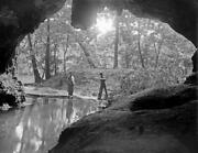 1916 Cave Along The Current River Mo Old Vintage Photo 8.5 X 11 Reprint
