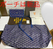 Goyard Saint Louis Pm Tote Bag With Pouch And Preservation Bag And Book