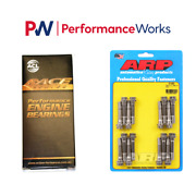 Acl Std Rod Bearings W/+.001 Oil Clearance And Arp Rod Bolt Combo For Bmw M3 E90