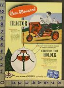 1953 Monarch Tractor Pedal Car Christmas Piano Erie County Des Moines Toy Adtq49
