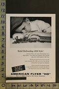 1959 Toy Ad Vehicle Train Railroad Western American Flyer New Haven Gilbert Te23