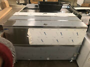 Norlake 62 5/8 Two Sided Stainless Steel Milk Cooler Ar164sss/0-a