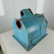 16 X 20 X 16 D Lined Vibratory Cleaning Finishing Deburring Trough See Info