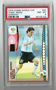 2006 Panini World Cup Germany 47 Lionel Messi Soccer - Psa 8