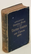 United States Canada Maps / Appletons' General Guide To The United States 1886