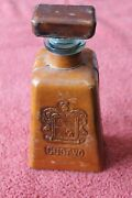 Vintage Jose Cuervo Leather Wrapped Tequila Bottle Decanter Empty Collectible