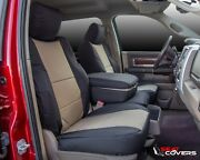Custom Fit Canvas Front Seat Covers For The 2008-2013 Chevy Silverado