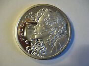 Coleectible 2013 2 Oz .999 Pure Silver Shield Proof Freedom Girl