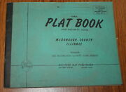 Farm Plat Book And Business Guide Of Mcdonough County Ill. Circa 1950
