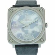 Bell And Ross Camouflage Quartz Watch Brs-64 Stainless Steel Camouflage 0033 Menand039s