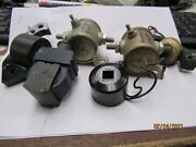 Assorted Lot Vintage Coils New And Used Outboard Boat Parts As Seen In Picture