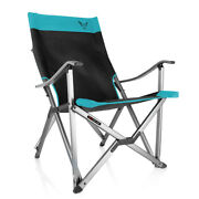 Racefoxx Outdoor Chair Camp Chair Folding Chair Super Sturdy Turquoise