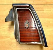 1974 Chevy Monte Carlo Tail Light Quarter Panel Extension And Lens Rh 74 Gm Oem