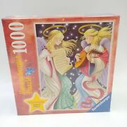 Two Angels 1000 Piece Ravensburger Jigsaw Puzzle Christmas - New