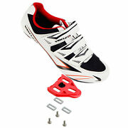 Venzo Road Bike For Shimano Spd Sl Look Cycling Bicycle Shoes And Cleats 50