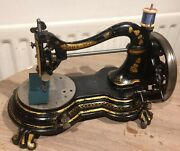 The Windsor Antique Swan Neck Sewing Machine C1880
