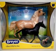 New In Box Breyer Horse New 2021 Cloud's Encore And Tor Gift Set 1840