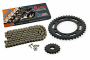 2009 - 2014 Yamaha Yzf-r1/le Yzf R1/le Cz Dzx X-ring Chain And Sprocket 17/39 120l