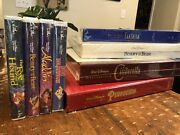 Brand New Sealed Walt Disney Classic/masterpiece Box Sets Plus More Four New Vhs