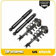 For 1999-2004 Honda Odyssey Front Complete Struts X 2 + Rear Shock Absorbers X 2