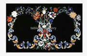 3and039x2and039 Marble Beautiful Dining Table Top Multi Floral Inlay Christmas Gifts B702