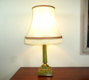 Table Lamp About 1900 Vienna Onyx Bronze