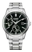 Citizen Collection Watch Nb3001-53e Menand039s Silver Black Analog Round Classical