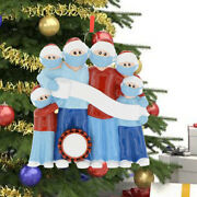 3pcs Personalized Christmas Ornament For 2020 Xmas Hanging Ornaments Family Gift