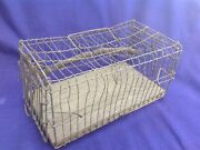 Antique Cage Trap Hamilton And Mathews Furniture And Hardware Store Rochester Ny