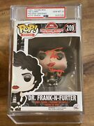 Tim Curry Signed Rocky Horror Picture Show Dr Frank Funko Pop Psa/dna Encased 10